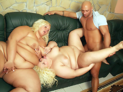 Melinda Shy and Faye are plus sized older women having a blast in sucking and fucking a cock